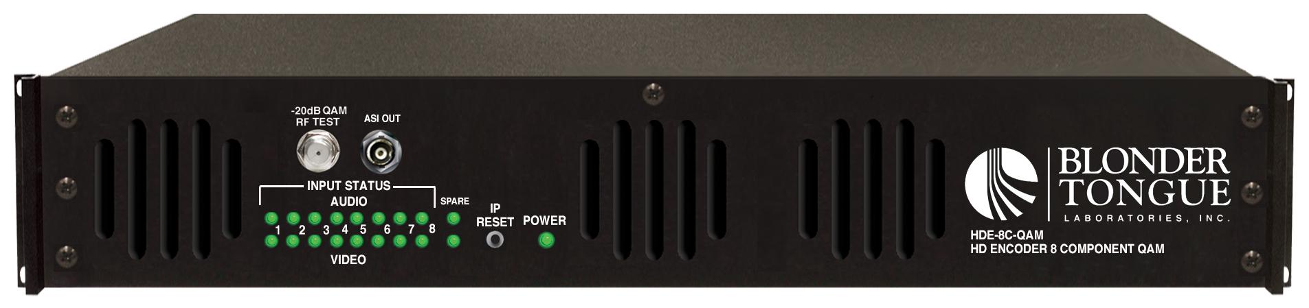 HDE-8C-QAM MPEG-2 HD Encoder