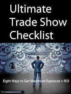 ultimate tradeshow checklist